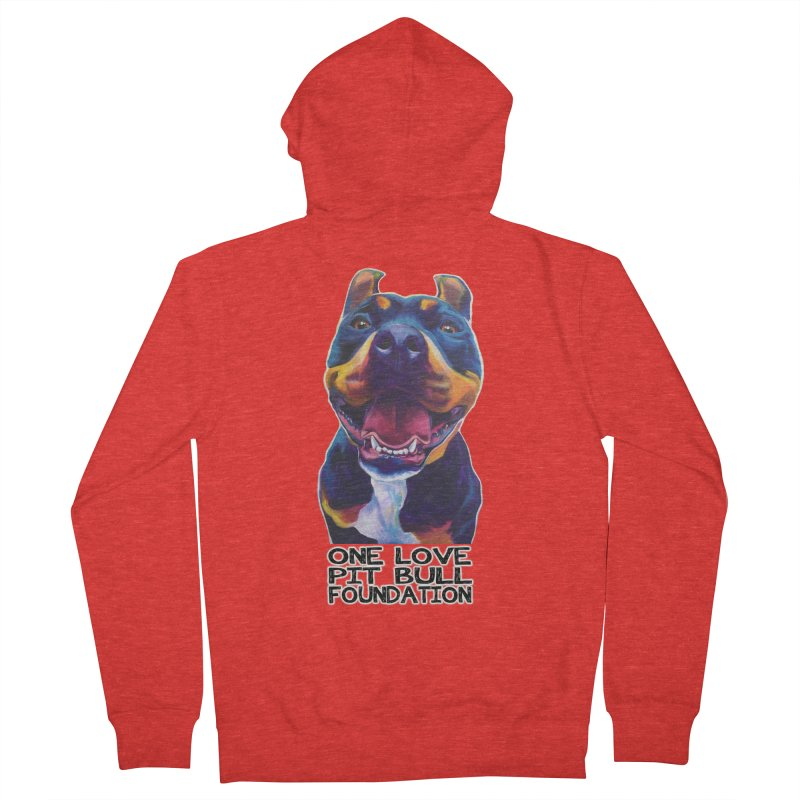 Maya Men's Zip-Up Hoody by One Love Pit Bull Foundation