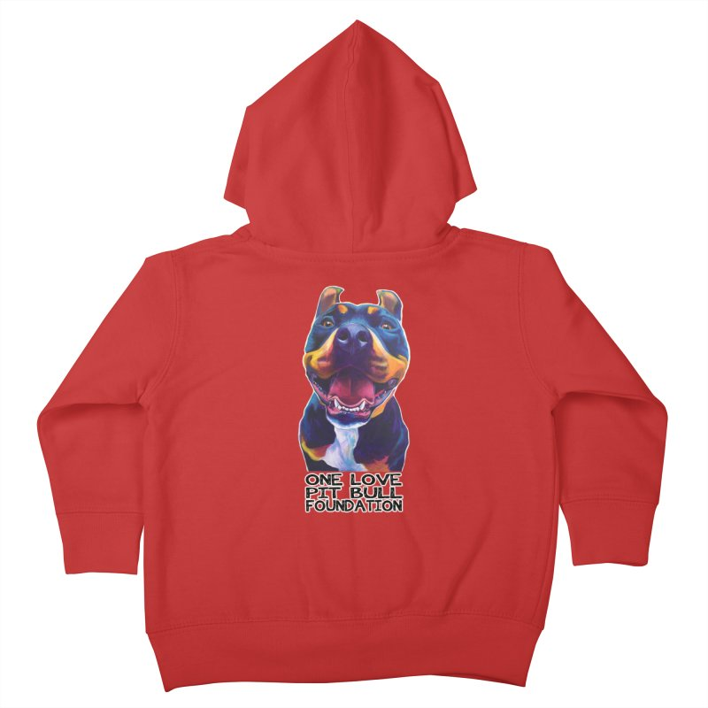 Maya Kids Toddler Zip-Up Hoody by One Love Pit Bull Foundation