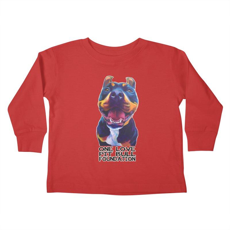 Maya Kids Toddler Longsleeve T-Shirt by One Love Pit Bull Foundation