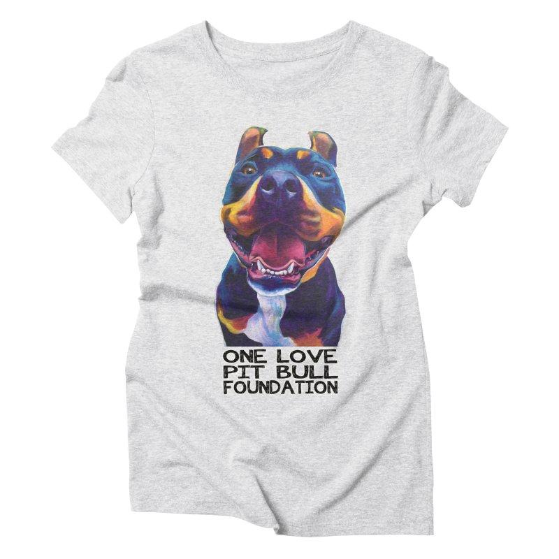 Maya Women's T-Shirt by One Love Pit Bull Foundation