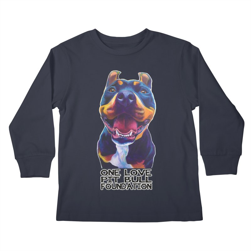 Maya Kids Longsleeve T-Shirt by One Love Pit Bull Foundation