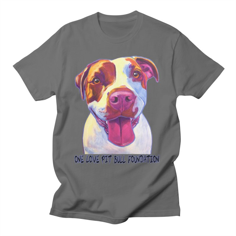 Gemma Men's T-Shirt by One Love Pit Bull Foundation