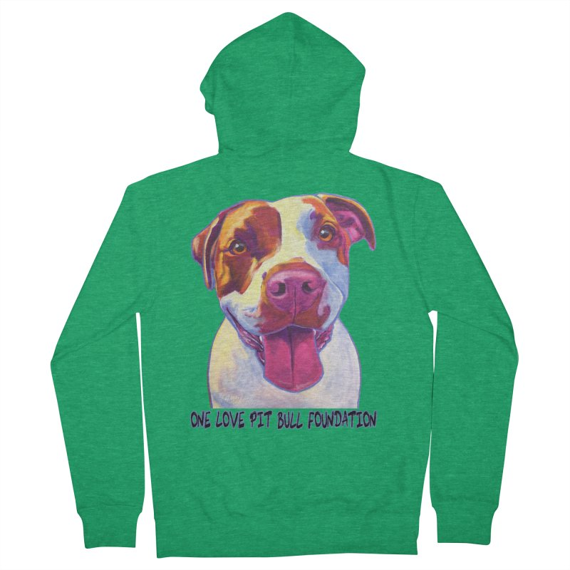 Gemma Men's Zip-Up Hoody by One Love Pit Bull Foundation