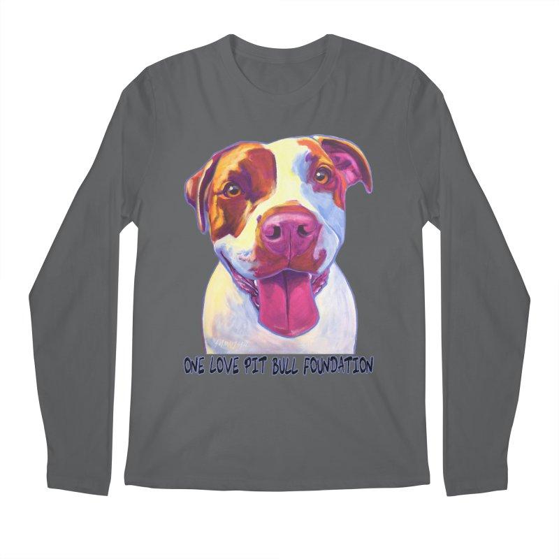 Gemma Men's Longsleeve T-Shirt by One Love Pit Bull Foundation