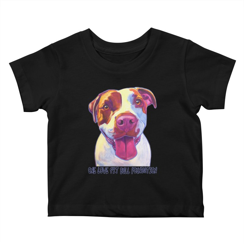 Gemma Kids Baby T-Shirt by One Love Pit Bull Foundation