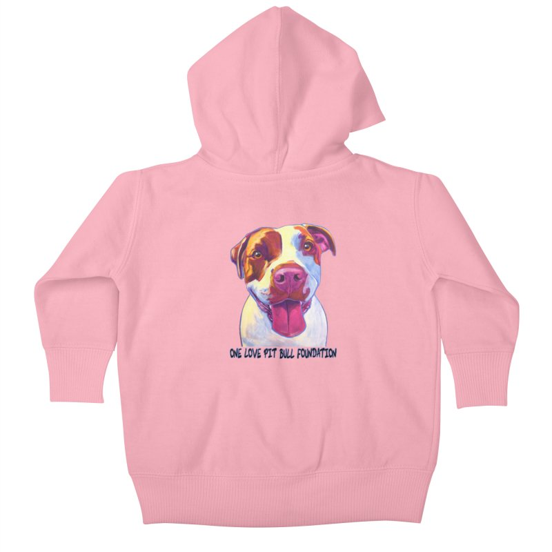 Gemma Kids Baby Zip-Up Hoody by One Love Pit Bull Foundation