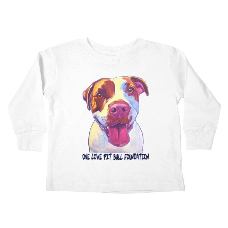 Gemma Kids Toddler Longsleeve T-Shirt by One Love Pit Bull Foundation