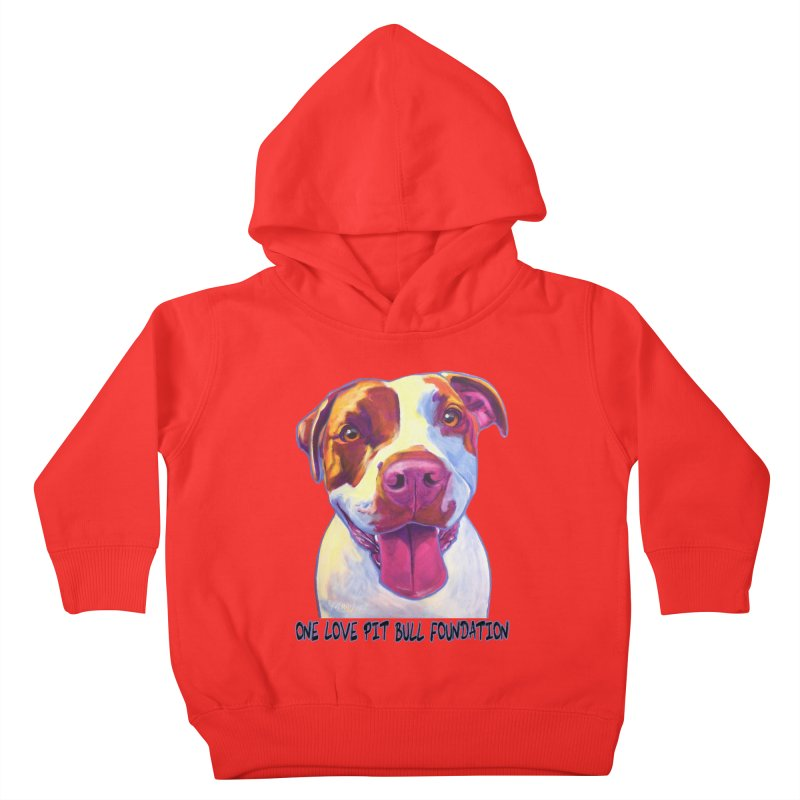 Gemma Kids Toddler Pullover Hoody by One Love Pit Bull Foundation