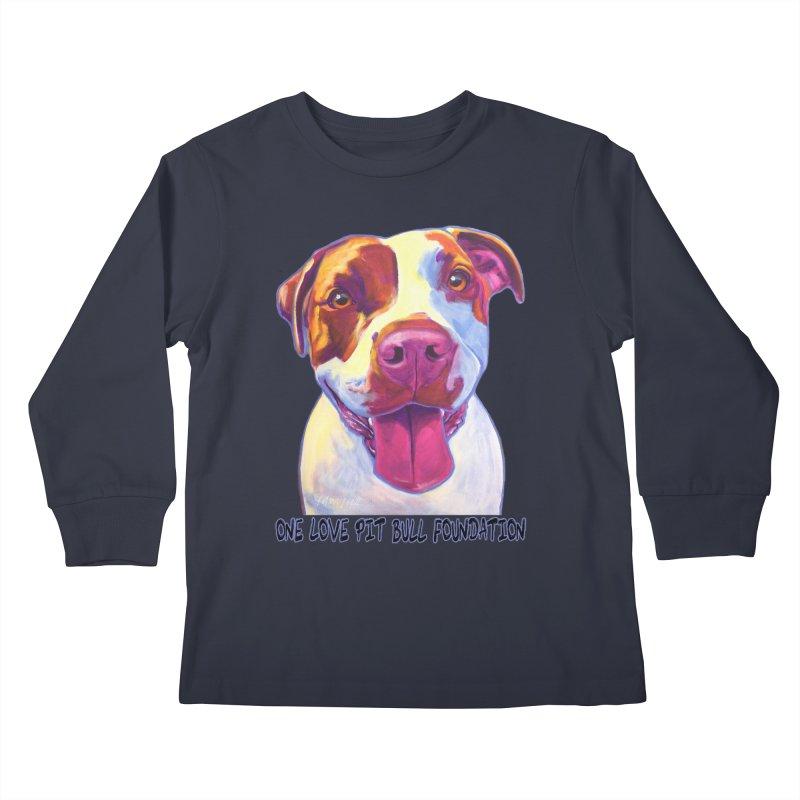 Gemma Kids Longsleeve T-Shirt by One Love Pit Bull Foundation