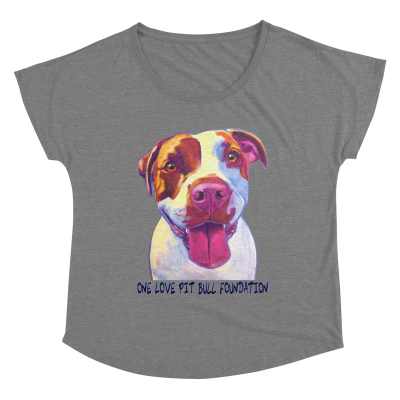 Gemma Women's Scoop Neck by One Love Pit Bull Foundation