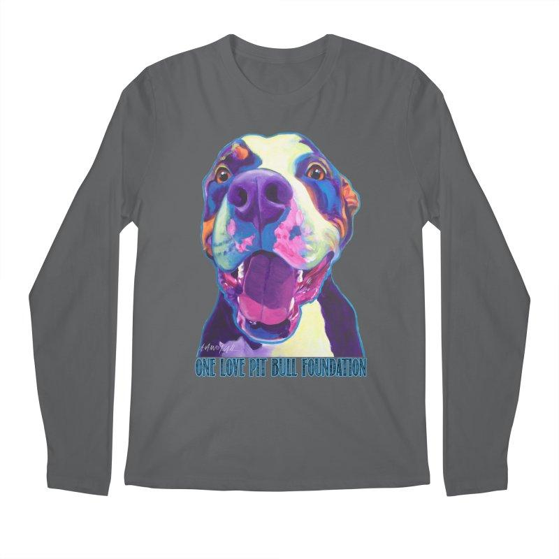 Mayhem Men's Longsleeve T-Shirt by One Love Pit Bull Foundation