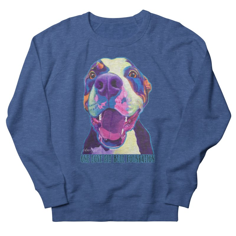 Mayhem Men's Sweatshirt by One Love Pit Bull Foundation
