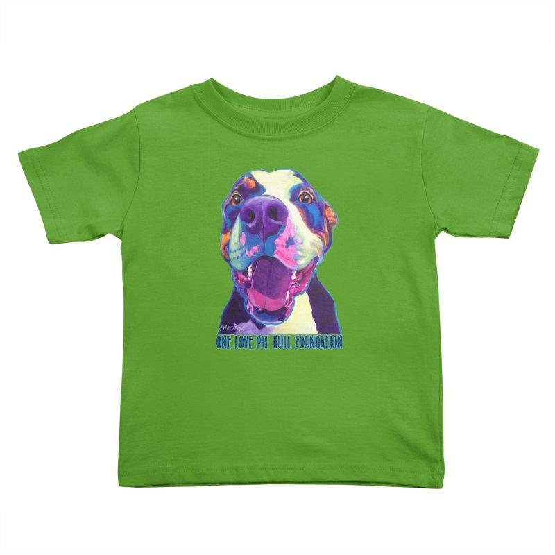 Mayhem Kids Toddler T-Shirt by One Love Pit Bull Foundation