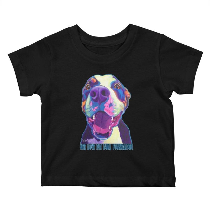 Mayhem Kids Baby T-Shirt by One Love Pit Bull Foundation