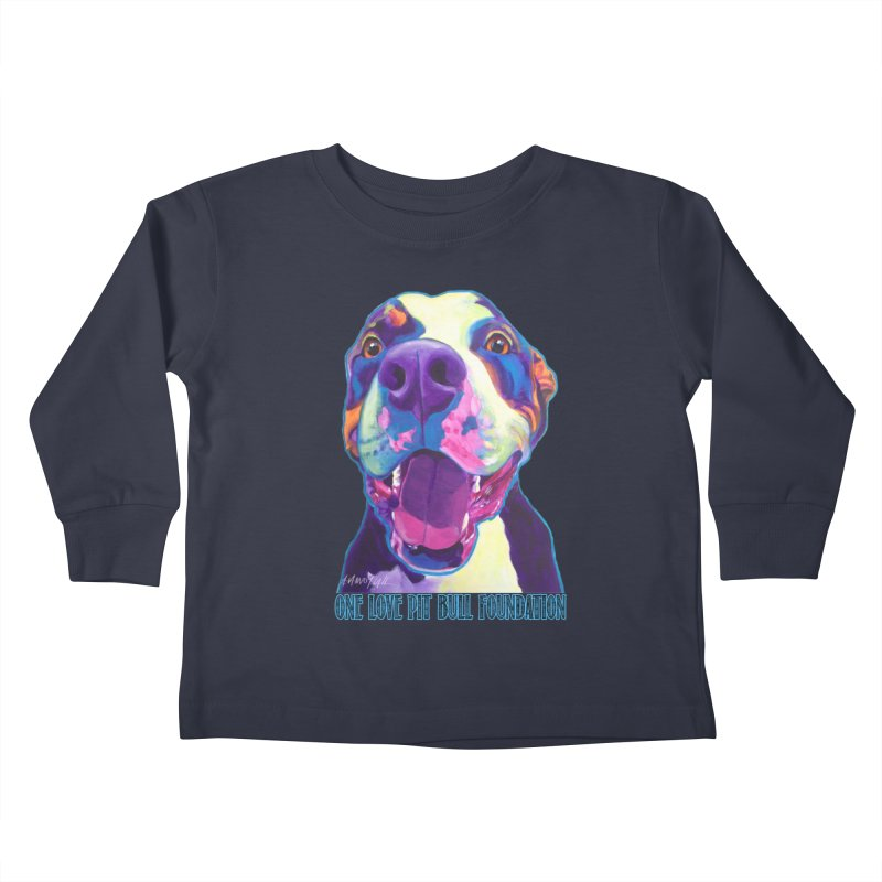 Mayhem Kids Toddler Longsleeve T-Shirt by One Love Pit Bull Foundation