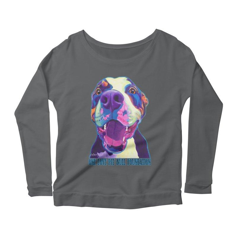 Mayhem Women's Longsleeve T-Shirt by One Love Pit Bull Foundation