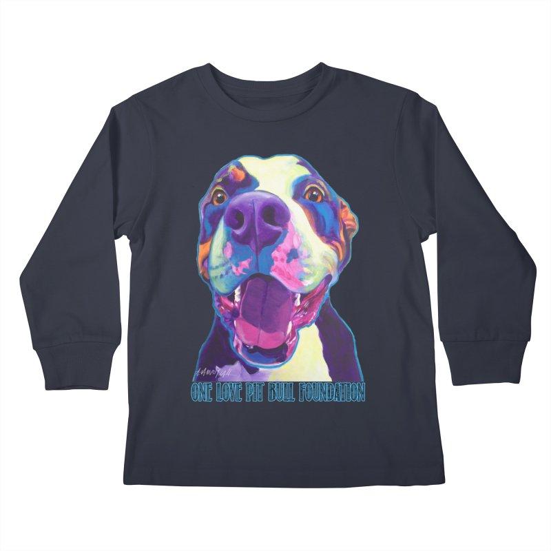 Mayhem Kids Longsleeve T-Shirt by One Love Pit Bull Foundation