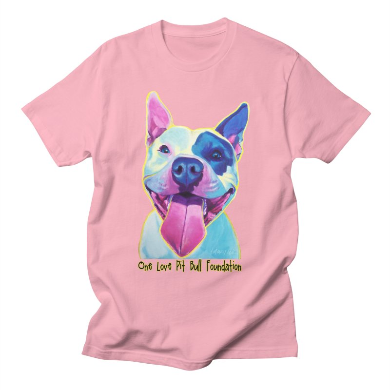 Big Louie Men's T-Shirt by One Love Pit Bull Foundation