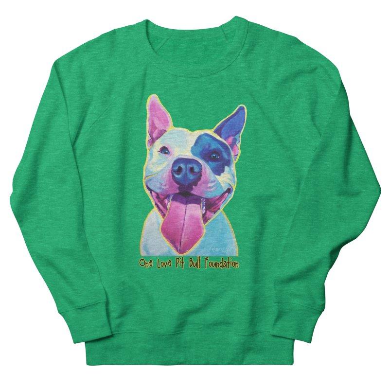 Big Louie Women's Sweatshirt by One Love Pit Bull Foundation