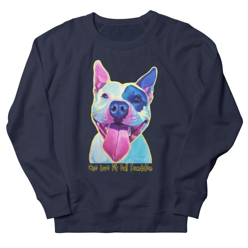 Big Louie Men's Sweatshirt by One Love Pit Bull Foundation