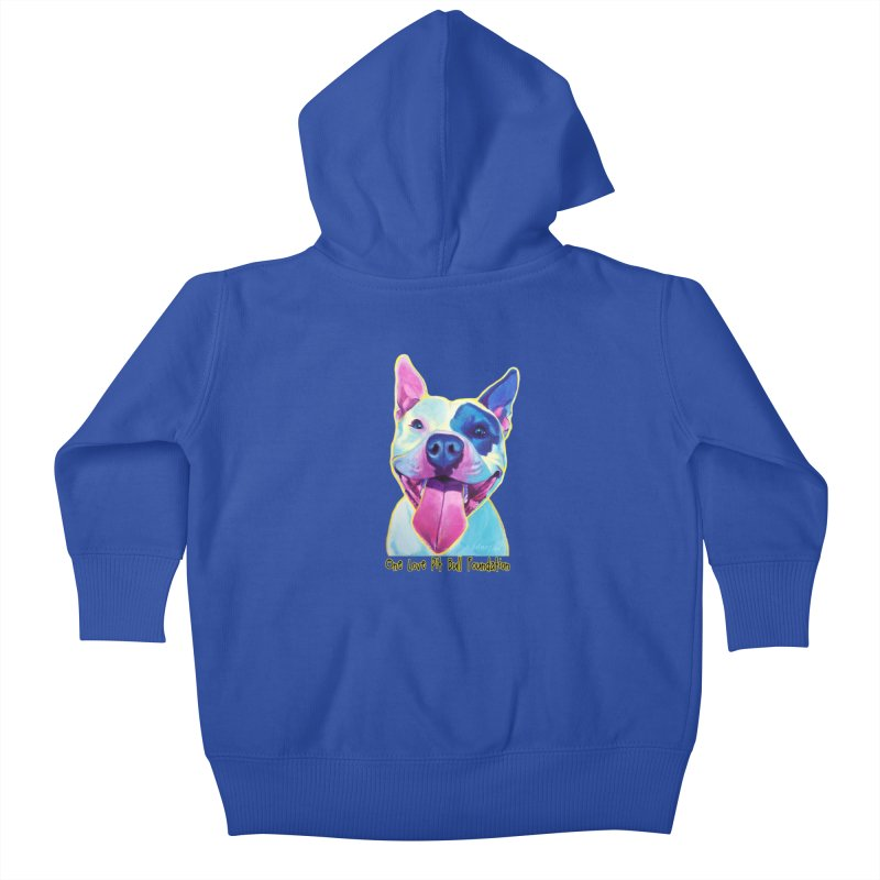 Big Louie Kids Baby Zip-Up Hoody by One Love Pit Bull Foundation