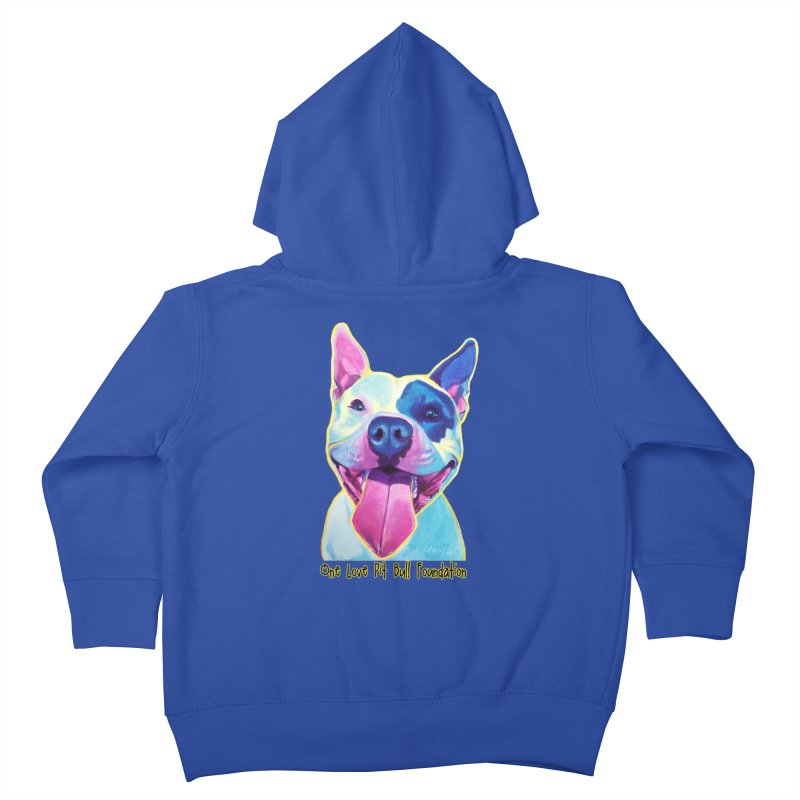 Big Louie Kids Toddler Zip-Up Hoody by One Love Pit Bull Foundation