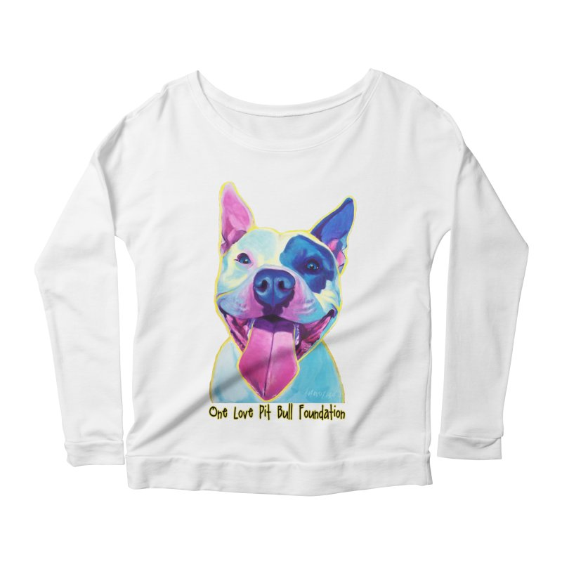Big Louie Women's Longsleeve T-Shirt by One Love Pit Bull Foundation