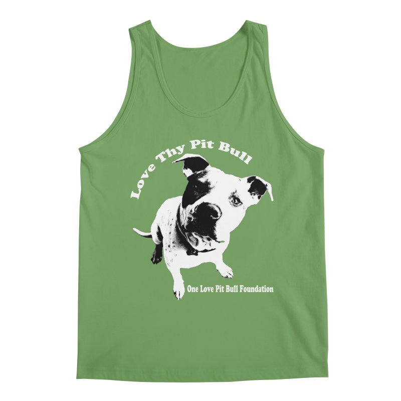 Love Thy Pit Bull Men's Tank by One Love Pit Bull Foundation