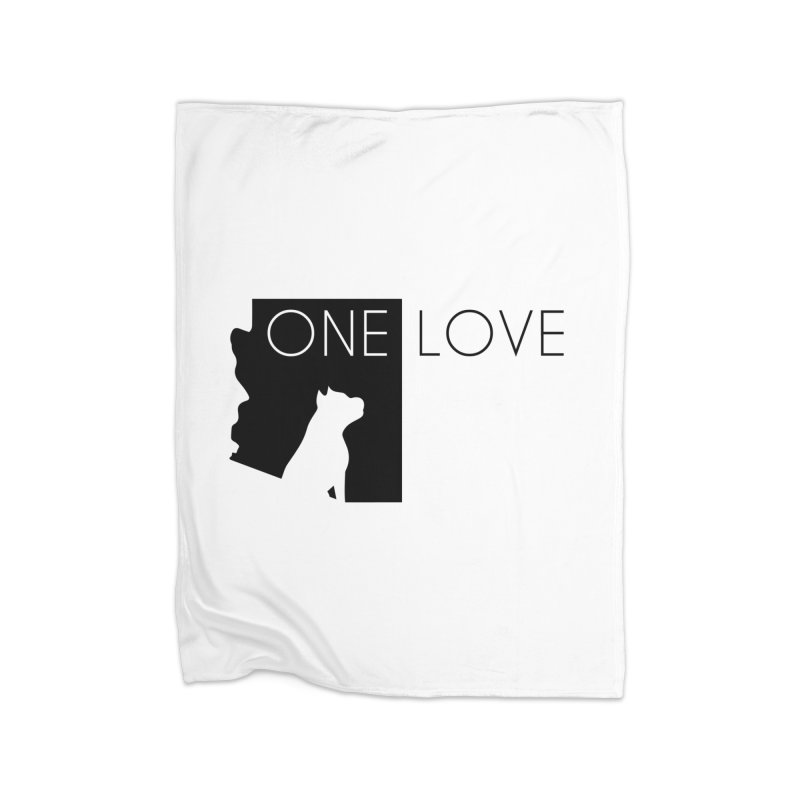 ONE LOVE Home Blanket by One Love Pit Bull Foundation