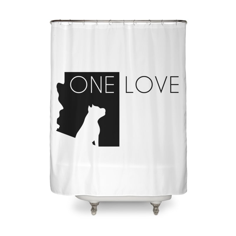 ONE LOVE Home Shower Curtain by One Love Pit Bull Foundation