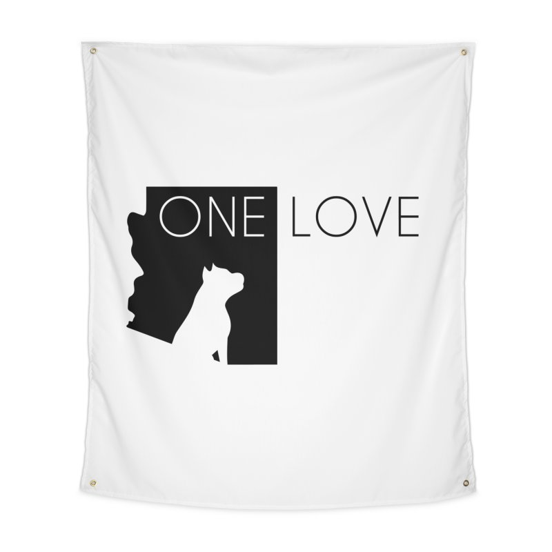 ONE LOVE Home Tapestry by One Love Pit Bull Foundation
