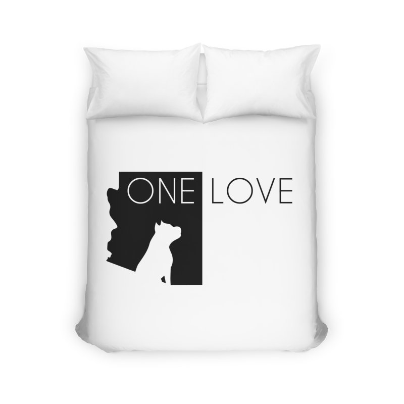 ONE LOVE Home Duvet by One Love Pit Bull Foundation