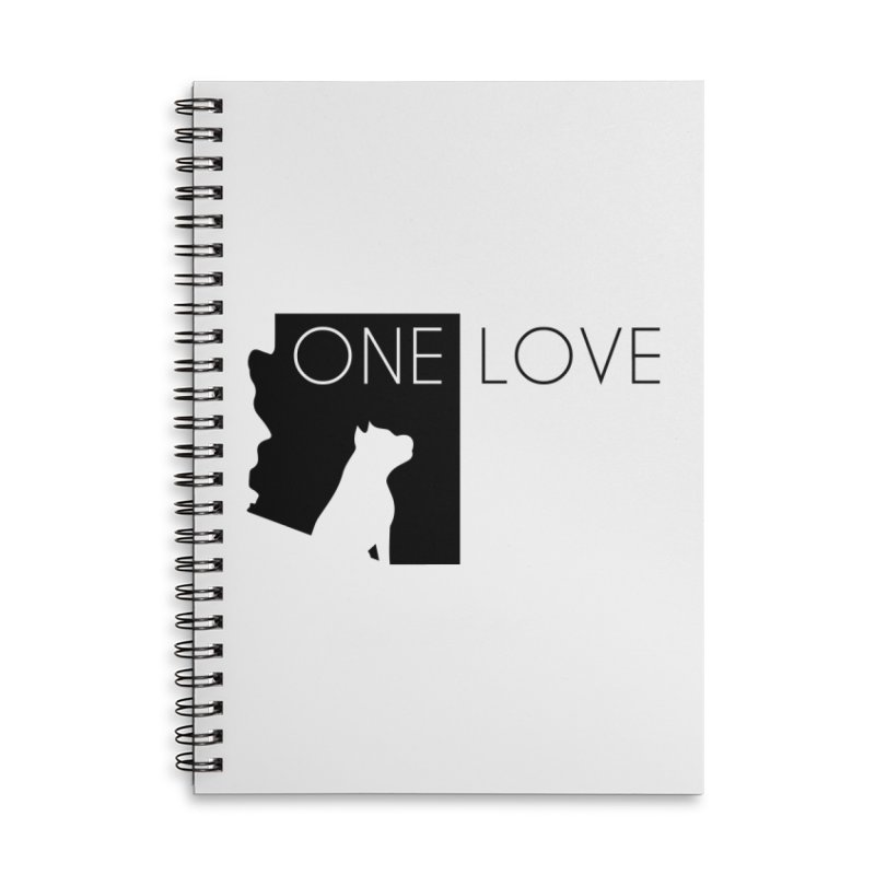 ONE LOVE Accessories Notebook by One Love Pit Bull Foundation