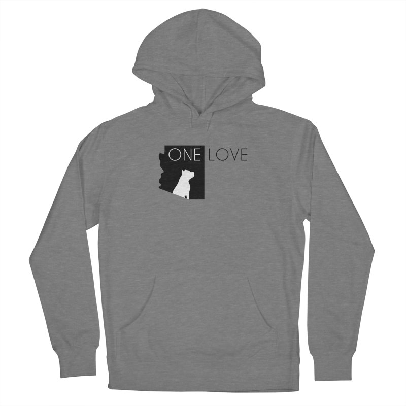 ONE LOVE Men's Pullover Hoody by One Love Pit Bull Foundation