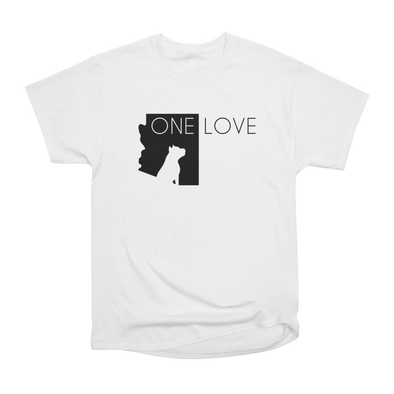 ONE LOVE Women's T-Shirt by One Love Pit Bull Foundation