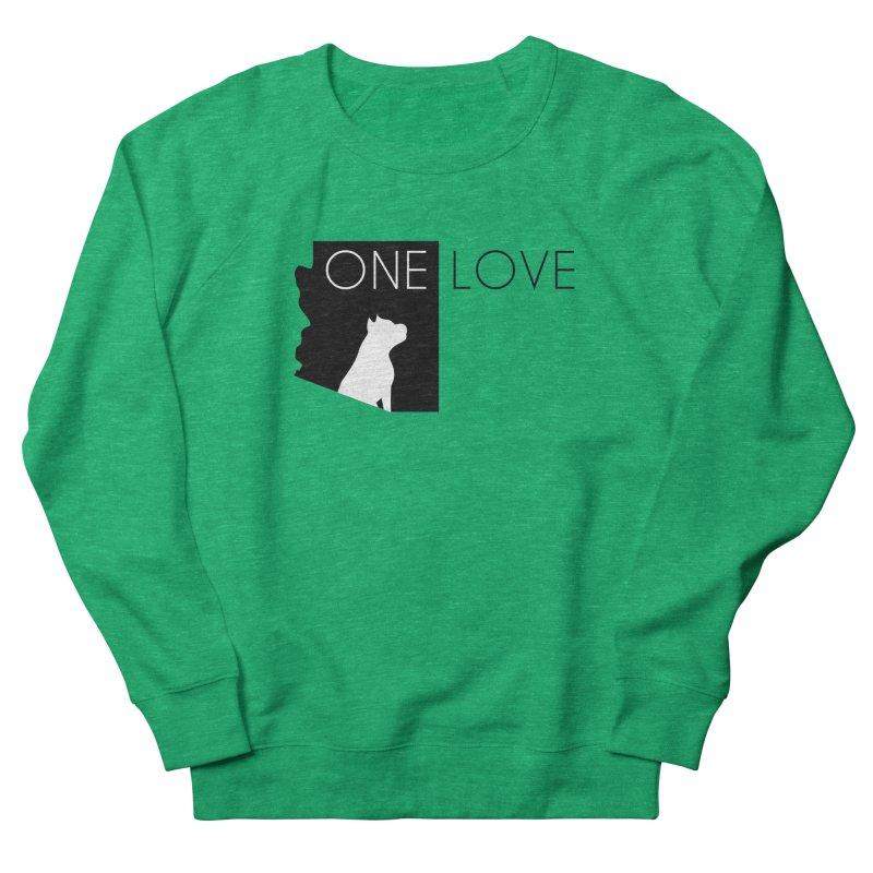 ONE LOVE Women's Sweatshirt by One Love Pit Bull Foundation