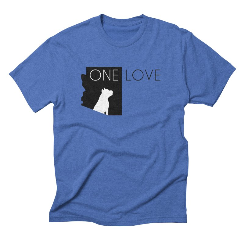 ONE LOVE Men's T-Shirt by One Love Pit Bull Foundation