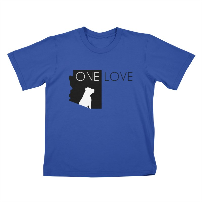 ONE LOVE Kids T-Shirt by One Love Pit Bull Foundation