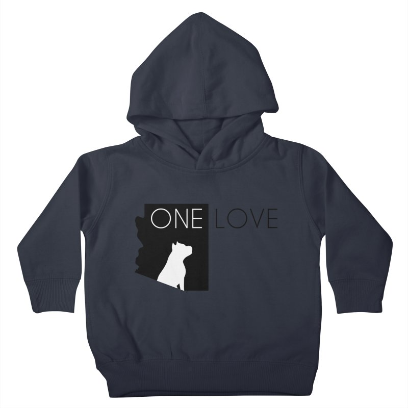 ONE LOVE Kids Toddler Pullover Hoody by One Love Pit Bull Foundation