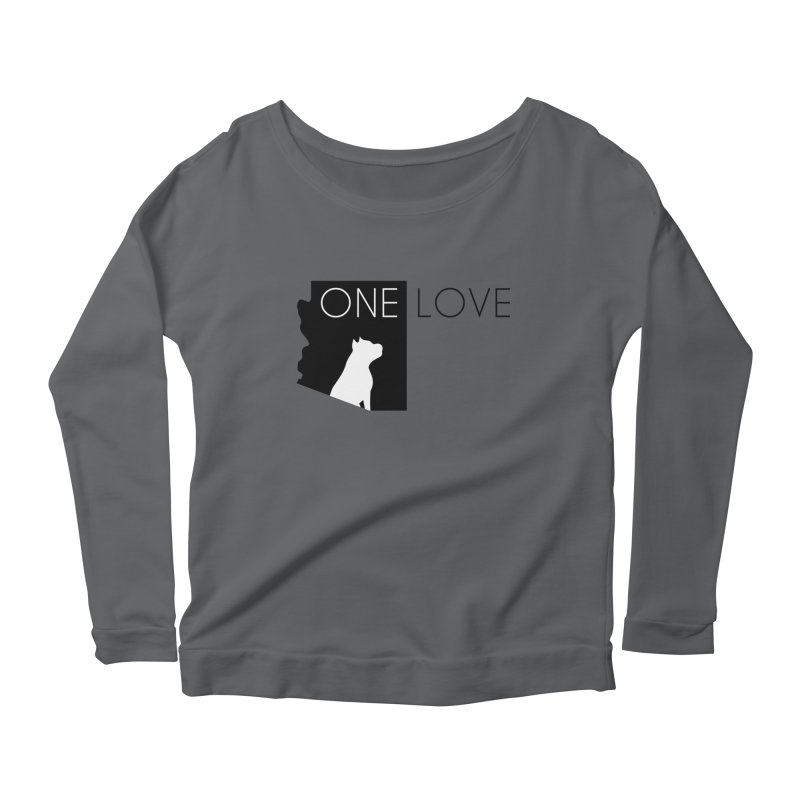 ONE LOVE Women's Longsleeve T-Shirt by One Love Pit Bull Foundation