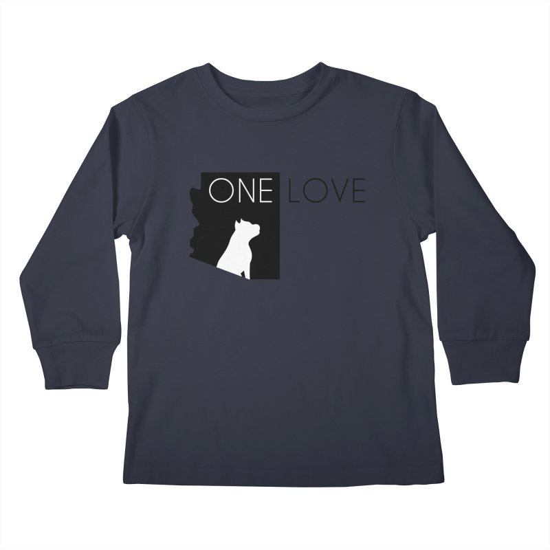 ONE LOVE Kids Longsleeve T-Shirt by One Love Pit Bull Foundation