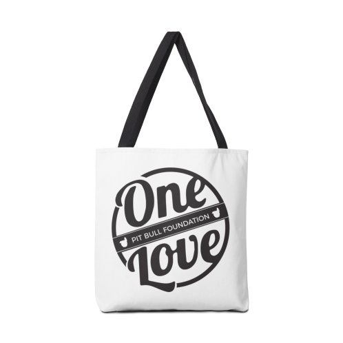 image for One Love Pit Bull Foundation Official Logo Black