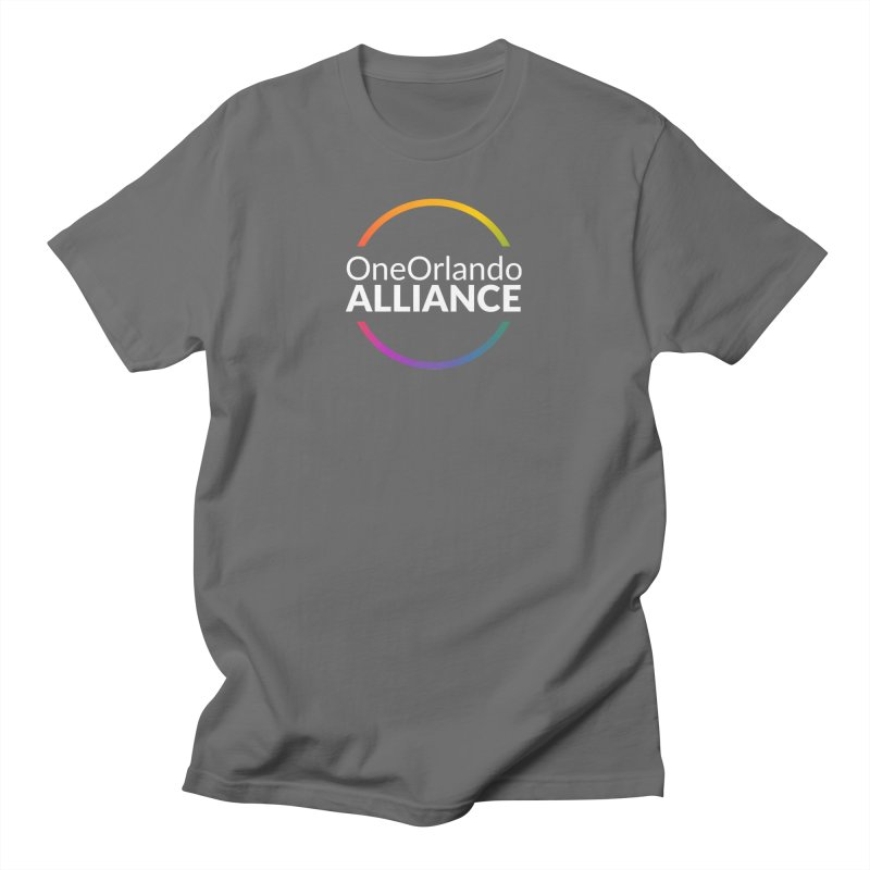OOA Logo (with White Text) Masc Style Clothing T-Shirt by oneorlandoalliance's Artist Shop
