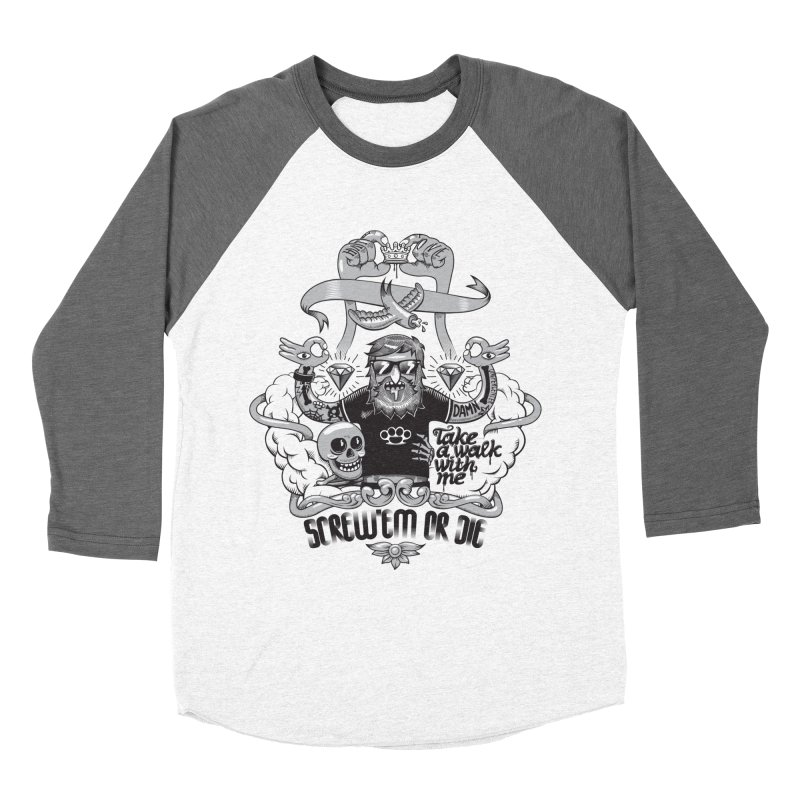 screw'em or die Women's Longsleeve T-Shirt by onepercenter's Artist Shop