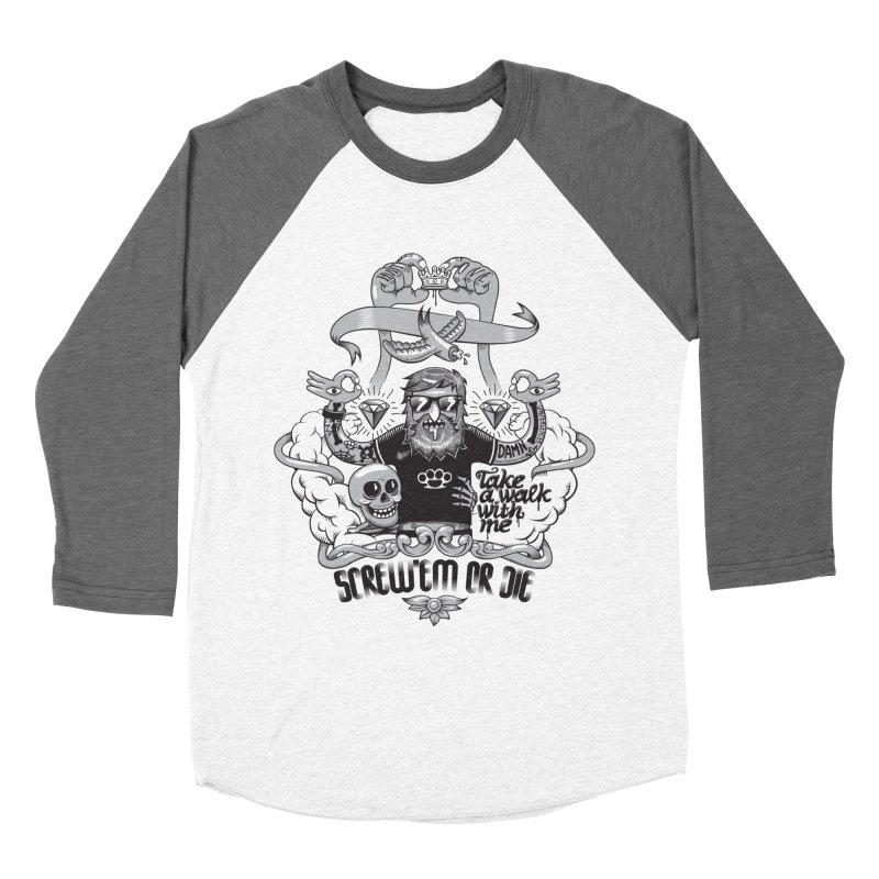 screw'em or die Men's Longsleeve T-Shirt by onepercenter's Artist Shop