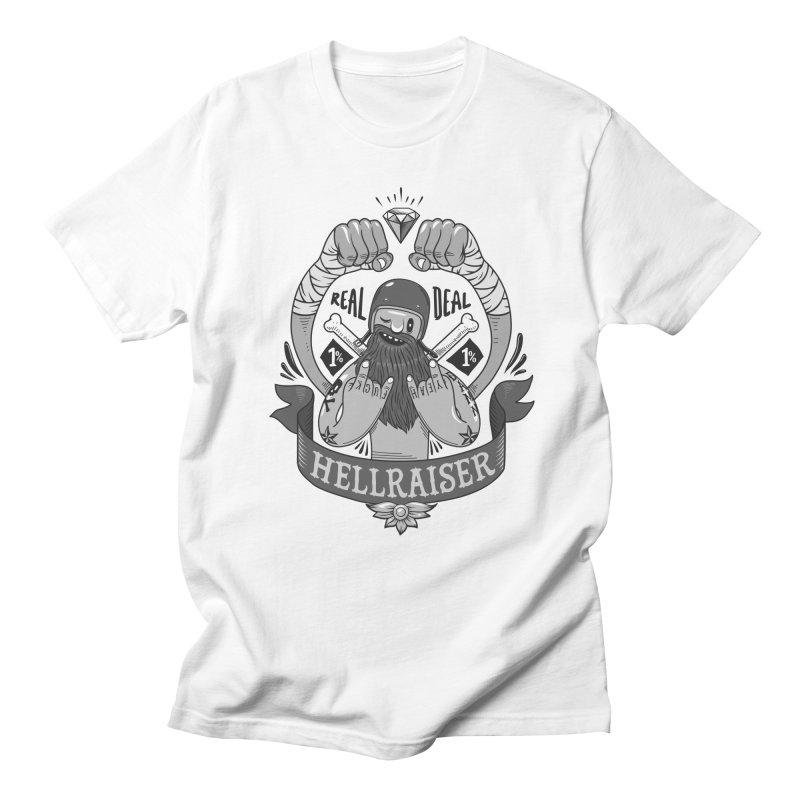 hellraiser Men's Regular T-Shirt by onepercenter's Artist Shop