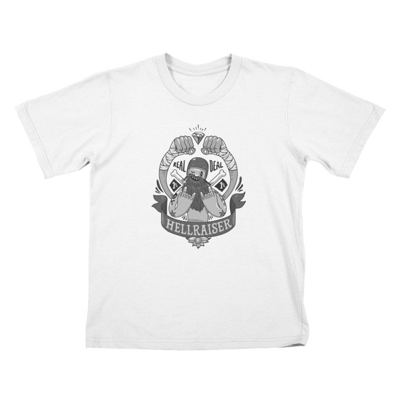 hellraiser Kids T-Shirt by onepercenter's Artist Shop