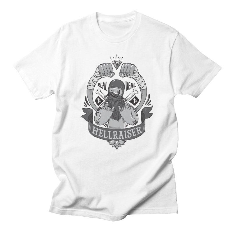 hellraiser Men's T-Shirt by onepercenter's Artist Shop