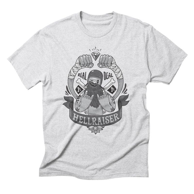 hellraiser Men's Triblend T-Shirt by onepercenter's Artist Shop