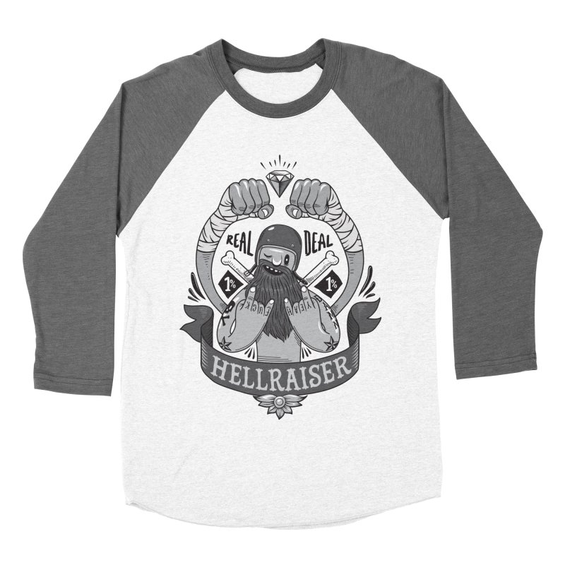 hellraiser Women's Baseball Triblend Longsleeve T-Shirt by onepercenter's Artist Shop